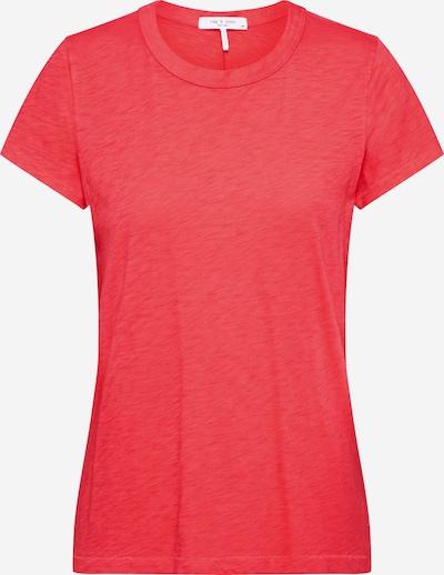 rag & bone T-shirt 'The Tee' en rouge, Vue avec produit