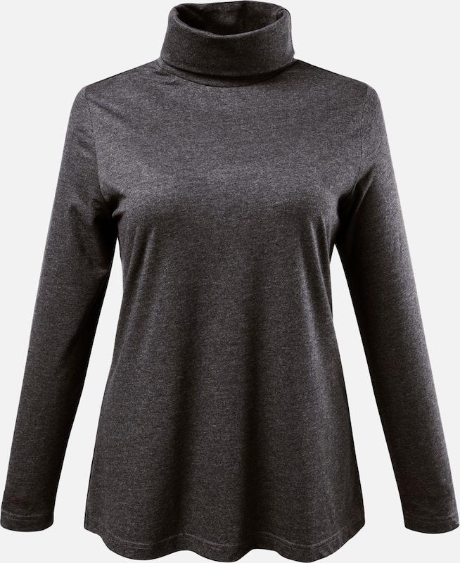 Anthracite T Ulla En shirt Popken F5l3TJucK1