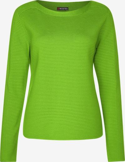 STREET ONE Pullover in kiwi, Produktansicht