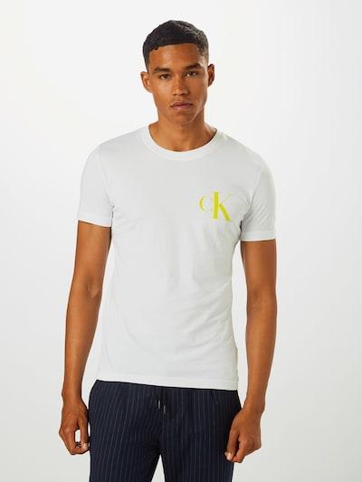 Calvin Klein Jeans Shirt in de kleur Wit: Vooraanzicht