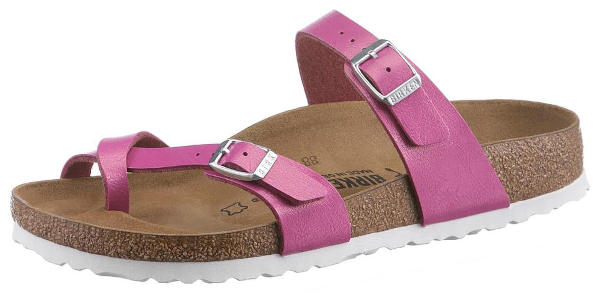 BIRKENSTOCK Pantolette Mayari Verschleißfeste billige Schuhe