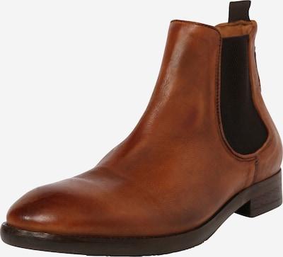 Hudson London Chelsea boots 'Kirchner' in de kleur Karamel / Zwart, Productweergave