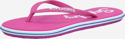 Superdry Teenslipper in de kleur Pink, Productweergave
