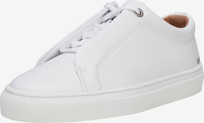 SHOEPASSION Sneaker 'No. 24 WS' in weiß: Frontalansicht