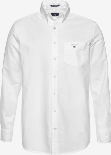Dalykinio stiliaus marškiniai 'The Oxford Shirt BD' iš GANT , spalva - balta, Prekių apžvalga