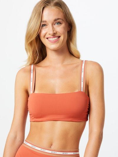 ROXY Hauts de bikini 'SISTERS' en orange, Vue avec modèle