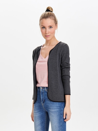 ONLY Strickcardigan in anthrazit, Modelansicht