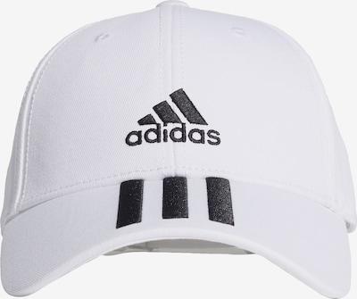 ADIDAS PERFORMANCE Sporta naģene melns / balts, Preces skats
