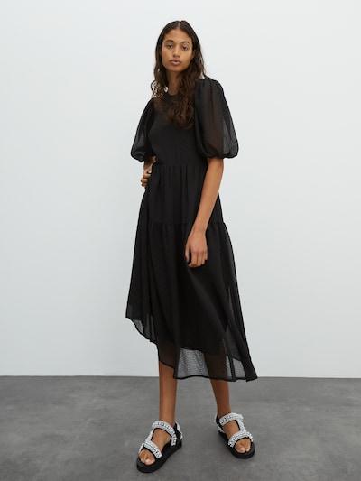 EDITED Kleid 'Ellen' in schwarz, Modelansicht