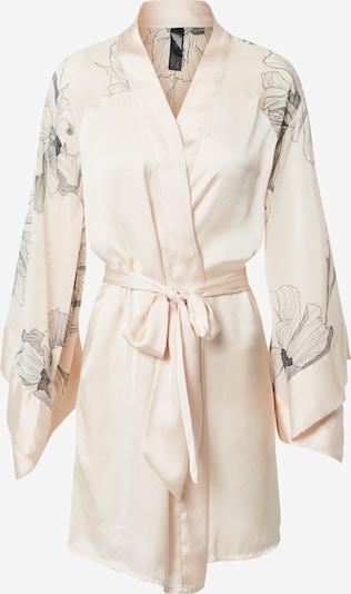Hunkemöller Kućni ogrtač 'Kimono Lotus' u rosé / crna, Pregled proizvoda