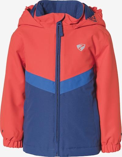 ZIENER Skijacke 'Amai' in blau / rot, Produktansicht