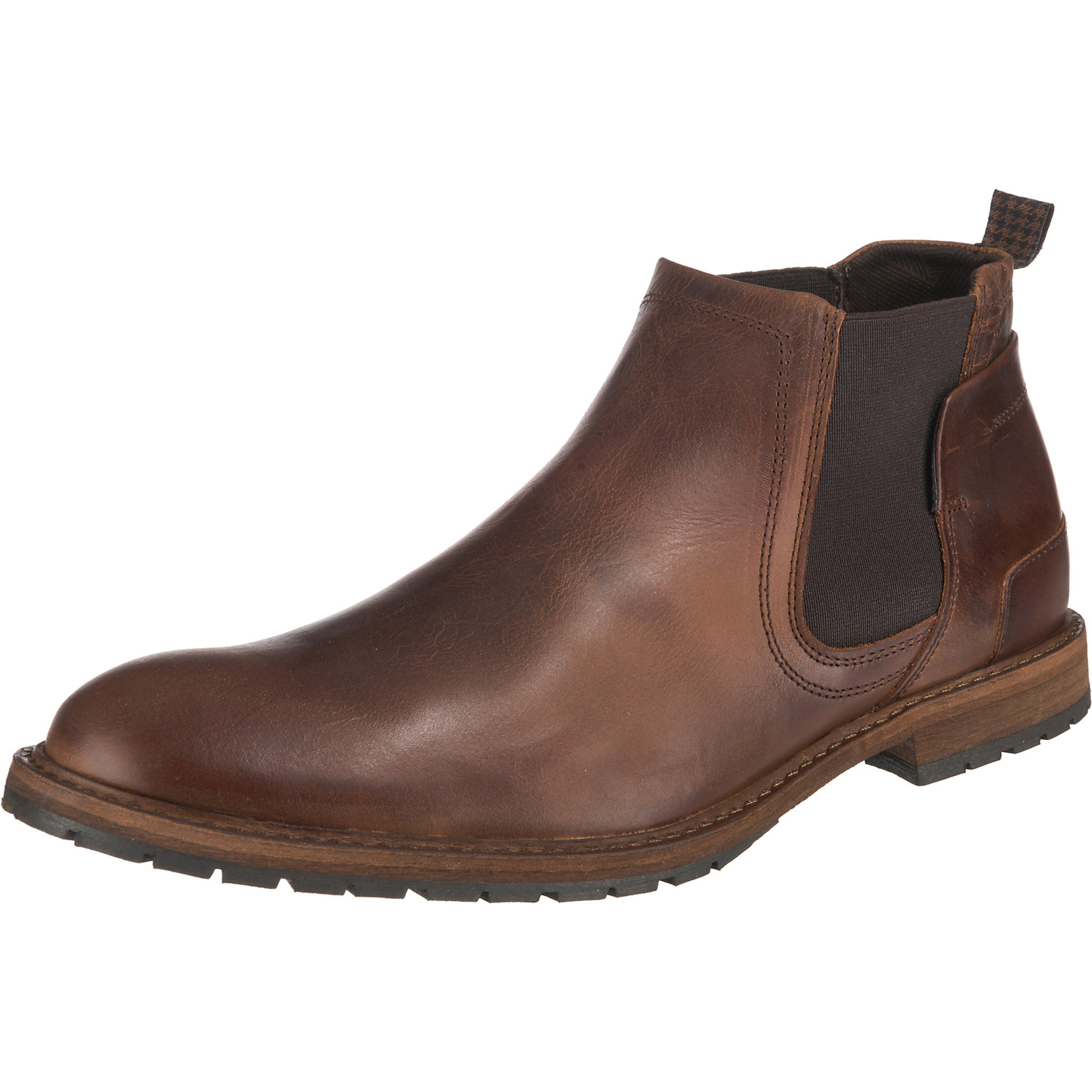 Vesterbro Boots Chelsea In Leder Braun Paul ED9be2IWHY