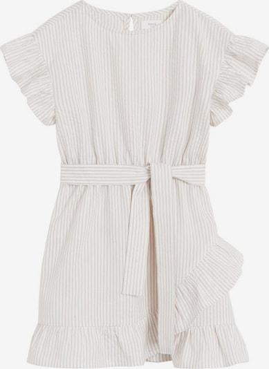 MANGO KIDS Kleid 'Camel' in hellgrau / weißmeliert, Produktansicht