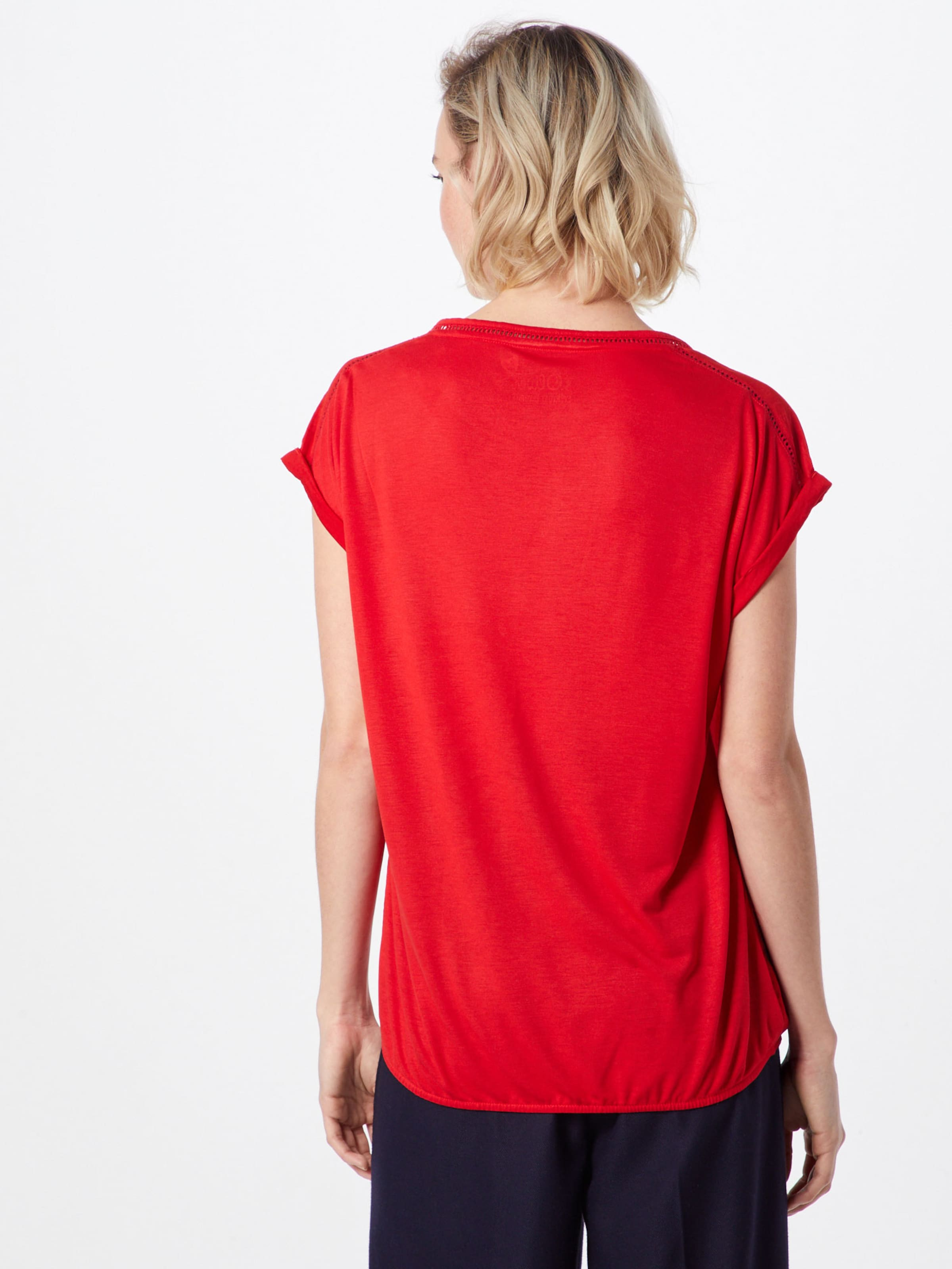 S oliver T Rot shirt Label Red In 3LAR5jq4