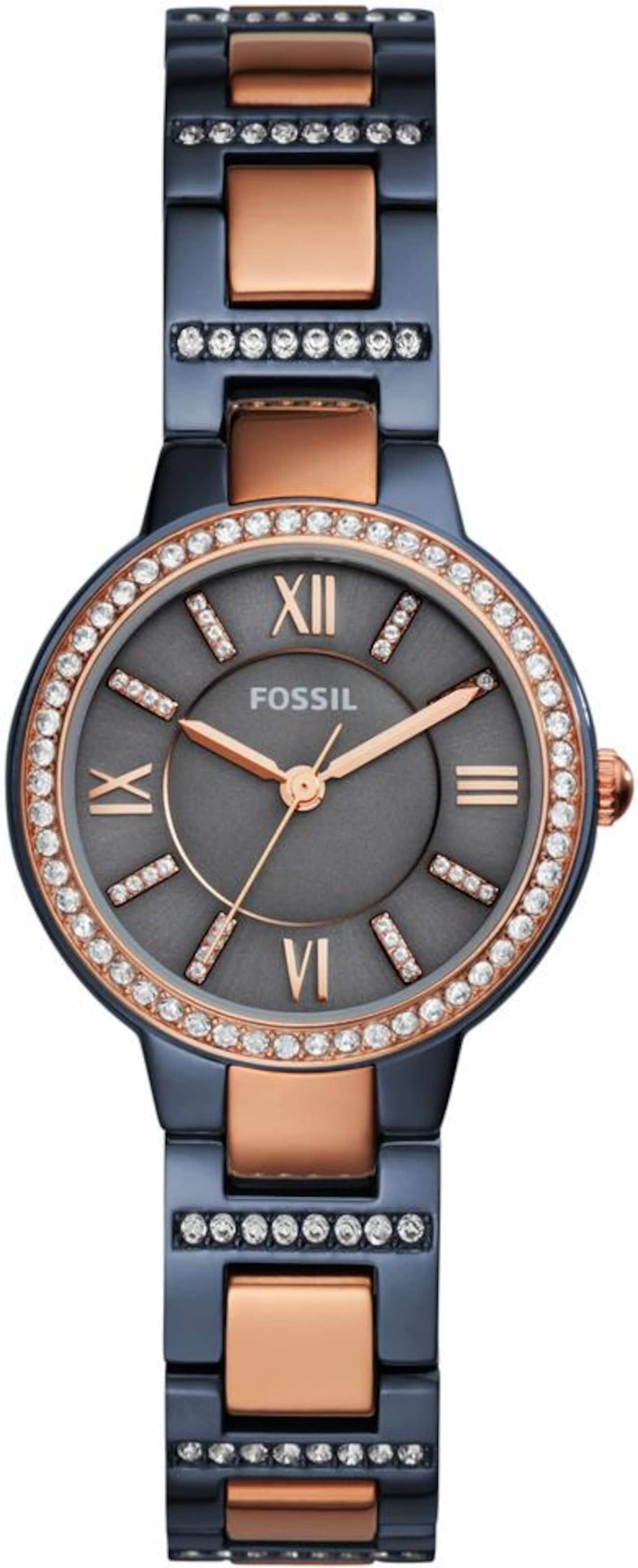 FOSSIL Fossil Quarzuhr 'VIRGINIA, ES4298'