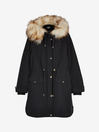 Miss Selfridge Parka in schwarz, Produktansicht