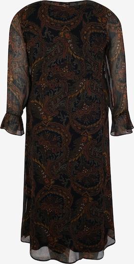 ABOUT YOU Curvy Kleid 'Agathe' in mischfarben / schwarz: Rückansicht