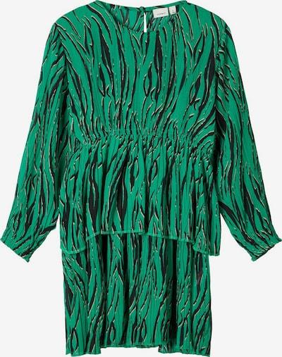 NAME IT Kleid in smaragd / schwarz, Produktansicht