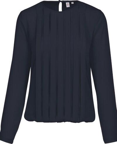 SEIDENSTICKER Fashion-Bluse ' Schwarze Rose ' in nachtblau, Produktansicht