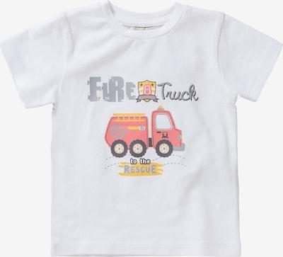 Boley T-Shirt Traktor in weiß, Produktansicht