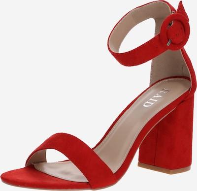 Raid Sandale  'GENNA-1' in rot, Produktansicht