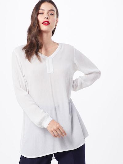 Kaffe Tunika 'Amber' in weiß, Modelansicht