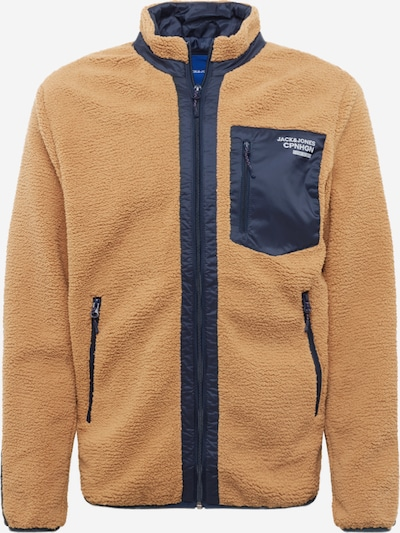 JACK & JONES Jacke 'JORWILLOW STAND COLLAR JACKET' in beige / braun, Produktansicht