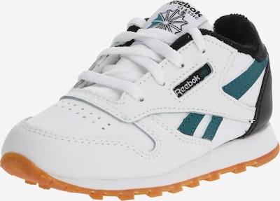 Reebok Classic Sneaker in petrol / schwarz / weiß, Produktansicht