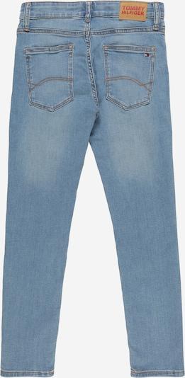 TOMMY HILFIGER Jeans in blue denim: Rückansicht