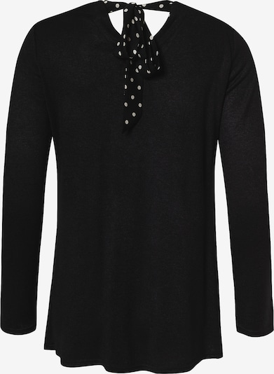 Balloon Pullover in schwarz, Produktansicht