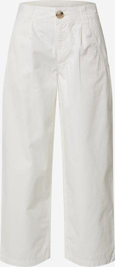 JACQUELINE de YONG Spodnie 'JDYHOWELL LOOSE CROPPED PANT PNT' w kolorze białym: Widok z przodu