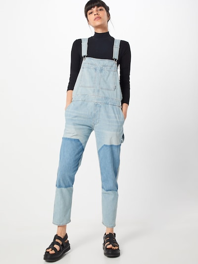 G-Star RAW Rifle na traky 'Faeroes bf Overall Wmn' - modrá denim, Model/-ka
