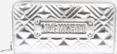 Love Moschino Geldbörse 'Portaf' in silber, Produktansicht