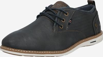 MUSTANG Chaussure à lacets en graphite, Vue avec produit