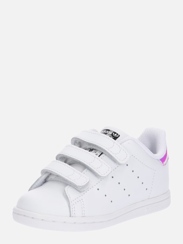 ADIDAS ORIGINALS Sneaker Low 'STAN SMITH' in silber weiß