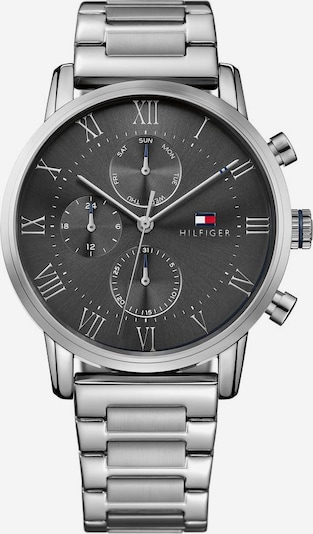 TOMMY HILFIGER Multifunktionsuhr 'Sophisticated Sport, 1791397' in anthrazit / silber, Produktansicht