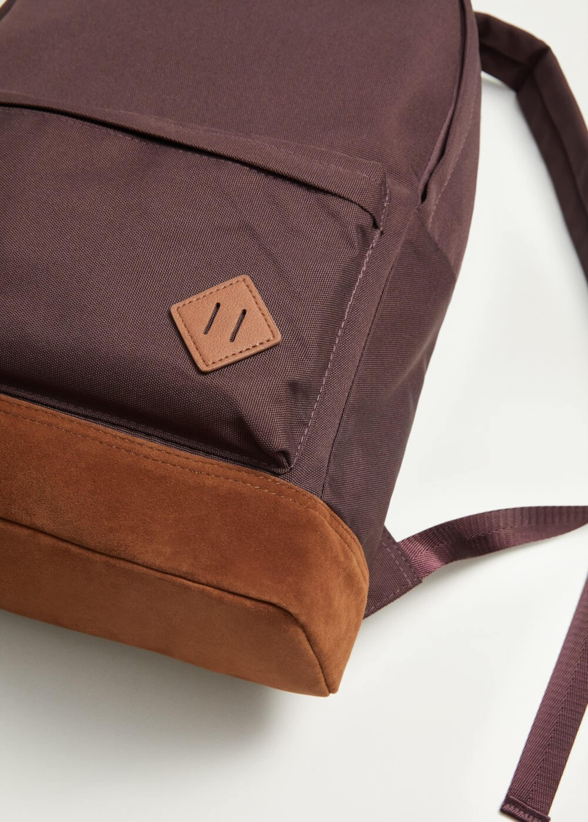 Basic' Man Bordeaux Rucksack 'm In Mango e AL34Rjq5