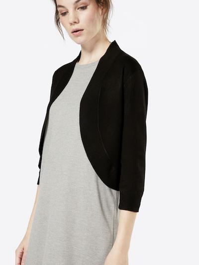 MORE & MORE Strickjacke 'Carolin' in schwarz, Produktansicht
