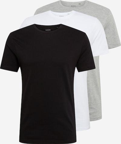 BURTON MENSWEAR LONDON Shirts in grau / schwarz / weiß, Produktansicht