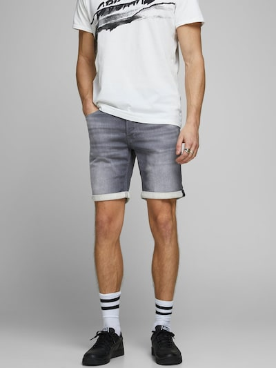 Jeans JACK & JONES pe gri, Vizualizare model