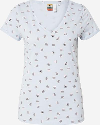 Q/S designed by Shirt in blau, Produktansicht