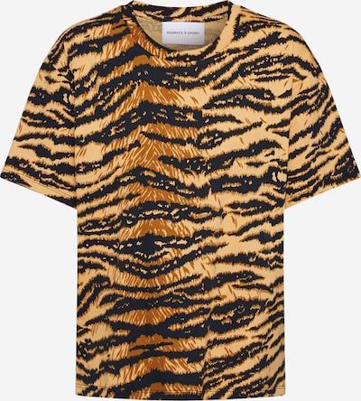 THE KOOPLES SPORT T-Shirt in braun / schwarz, Produktansicht