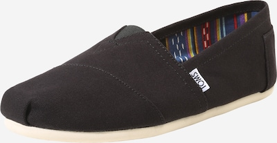 TOMS Pantofle 'ALPARGATA' w kolorze czarnym, Podgląd produktu