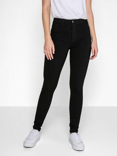 PIECES Jeggings in de kleur Zwart, Modelweergave