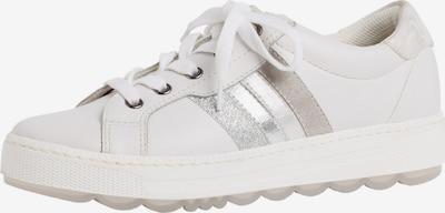 JANA Sneaker in silber / weiß, Produktansicht