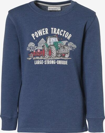 SALT AND PEPPER Sweatshirt 'Traktor' in taubenblau / mischfarben, Produktansicht