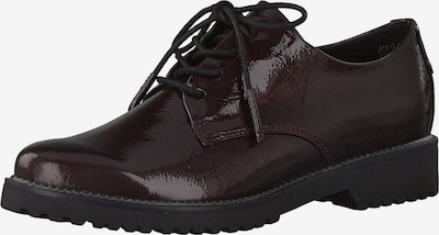 MARCO TOZZI Chaussure à lacets en bordeaux, Vue avec produit