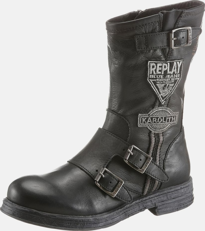 REPLAY Bikerboots 'Shelby'