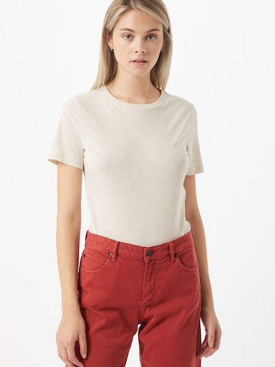 ARMEDANGELS T-shirt 'Lida' i vit, På modell
