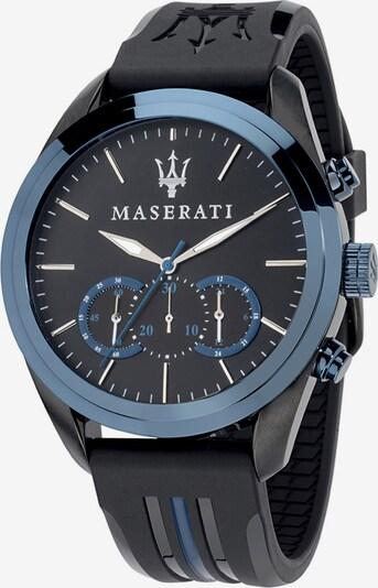 Maserati Uhr 'Traguardo' in blau / schwarz, Produktansicht